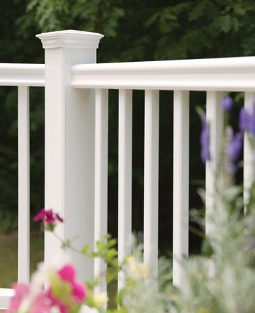 <b>Deck details</b></br> Composite deck details like trim boards, railings and hidden fasteners increase the cost.