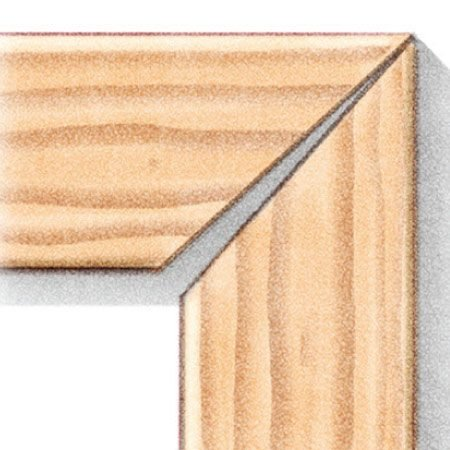 <b>Mitered joint</b></br> Miters in decking and railings always open up after a few years.