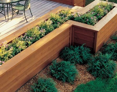 How to build the deck of your dreams the family handyman for Deck garden box designs