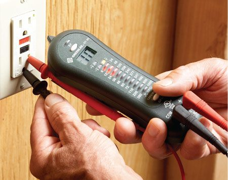 <b>Electrical tester</b></br> This durable tester checks for a host of electrical problems.