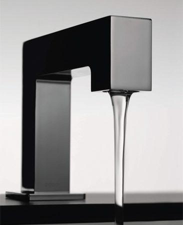 <b>Toto Axiom EcoPower faucet</b></br> Toto's Axiom EcoPower faucet uses a small internal turbine to generate its own electricity when the water runs. Isn't that cool? It has to be used 10 times a day to stay fully charged, so it's best in high-traffic areas. Visit <a href='http://www.totousa.com'>totousa.com</a>.
