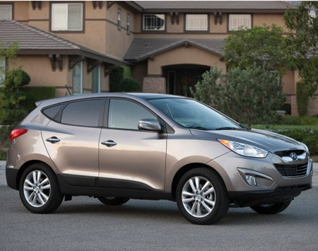 <b>2011 Hyundai Tucson </b><br/>The 2011 Hyundai Tucson is lighter, peppier and gets better gas mileage