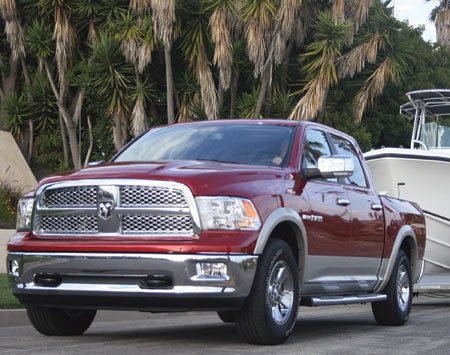 <b>2011 Dodge Ram</b><br/>Tow your boat (up to 10,450-lbs.) with the 5.7 HEMI V8 engine and towing package.