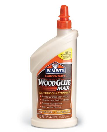<b>Waterproof glue</b></br> Apply waterproof glue, straight from the squeeze bottle.
