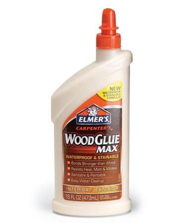 <b>Waterproof glue</b></br> Apply waterproof glue, straight from the squeeze bottle.