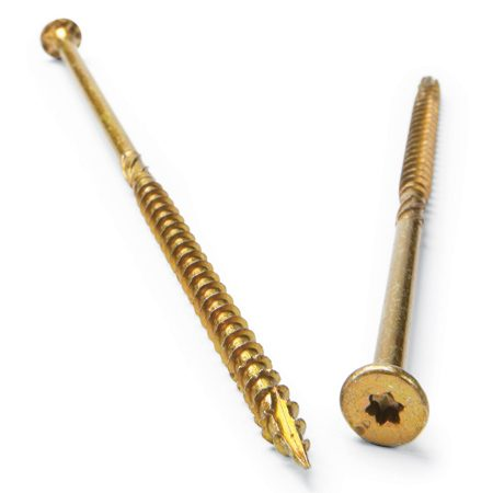 <b>Premium screws</b></br> Premium screws often feature self-drilling tips, stronger metal, corrosion resistance and are easier to drive.