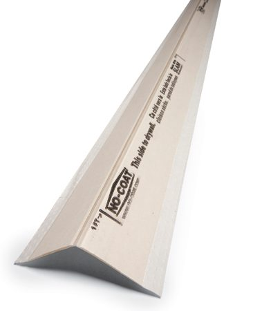 <b>Stiff drywall corners</b><br/>Stiff corners make crisp, precise drywall taping much easier for the homeowner.