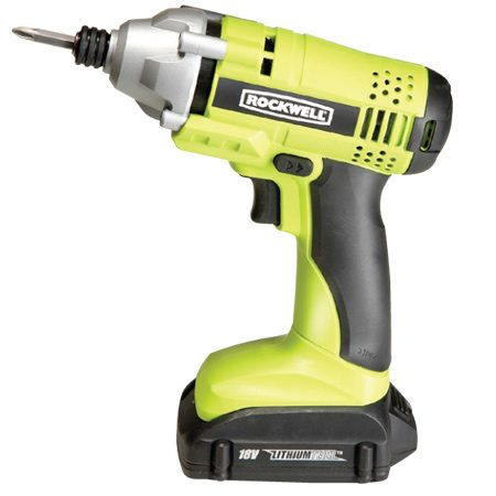 <b>Rockwell RK2800K2</b></br> <p>Cost: $200<br/> Torque: 1160 in.-lbs.<br/> Weight: 2.9 lbs.<br/> Battery: 18V lithium (2)</p>  <p>Light and affordable, plus a lifetime battery warranty.</p>