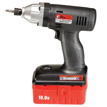 <b>Drill Master 67028</b></br> <p>Cost: $45 (driver, one battery, charger; each sold separately)<br/> Torque: 850 in.-lbs.<br/> Weight: 4.2 lbs.<br/> Battery: 18V NiCad (1)</p>  <p>Unbelievable price: about half the cost of any other model we tried. Available at <a href='http://www.harborfreight.com'>harborfreight.com</a>.</p>