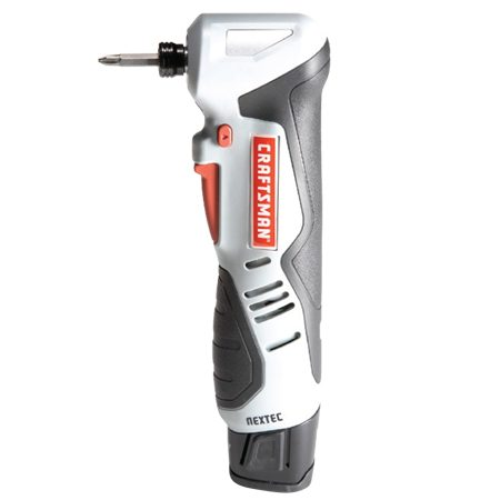 "<b>Craftsman 17562</b></br> <p>Cost: $100<br/> Torque: 700 in.-lbs.<br/> Weight: 3 lbs.<br/> Battery: 12V lithium (1)</p>  <p>This is the only ""angle"" driver we tested. High torque for tight spots. The Nextec battery works with other tools. Nice price.</p>"