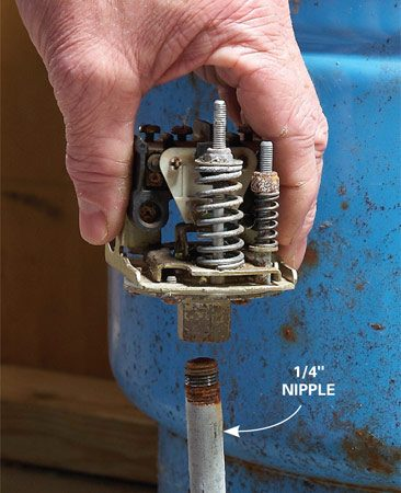 How To Replace A Well Pump Pressure Switch The Family