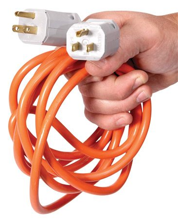 <b>Don&#39;t backfeed! It&#39;s just plain dangerous</b><br/>Forget about using a double-ended cord to run power backward into a receptacle. Instead, run separate extension cords or install a transfer switch.