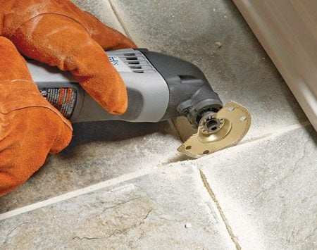 how to remove grout from bathroom tiles tips for removing grout the family handyman 26196