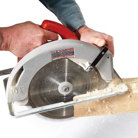 <b>Post and beam cutter</b></br> The Milwaukee 10-1/4-in. circular saw (model No. 6470-21) is for those who need to cut lots of 3-1/2-in. material. It cuts amazingly square every time, so you'll have perfect joints when you're putting your project together. One will set you back $350.