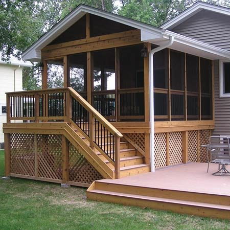 <b>Three-season porch</b></br> Mortenson specializes in creating comfortable, welcoming spaces that will hold up to decades of harsh Minnesota weather.