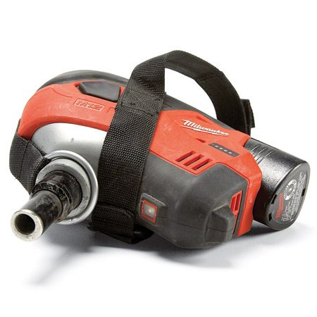 Battery-powered palm nailer