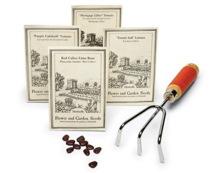 <b>Jefferson's favorites</b></br> The Obama White House kitchen garden honors Thomas Jefferson and is planted with many of his favorite varieties including Prickly-Seeded spinach, Tennis Ball lettuce and Red Calico lima beans. You can order seeds and live plants of these and many other unusual plant varieties. Visit <a href='http://www.monticello.org'>monticello.org</a>.
