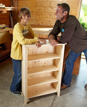 <b>Meet Justin and Jackson</b></br> <p>We recruited Justin and his son to help us with this  story.   Justin is a full-time firefighter and a woodworker on  his   off days. His 11-year-old son Jackson, an  up-and-coming   woodworker, had fun with his dad and learned a few   power tool techniques in the process. We provided the   plans and gave a few pointers along the way, and  Justin and Jackson took it from there. </p>