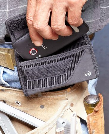 <b>Keep the phone safe and clean</b></br> <p>Carry the phone on your   belt in a leather holster   (Nite Ize CCSL-03-01   Clip Case)  available through our affiliation with <a href='http://www.amazon.com/gp/product/B004O6347M/ref=as_li_qf_sp_asin_tl?ie=UTF8&tag=familhandy-20&linkCode=as2&camp=1789&creative=9325&creativeASIN=B004O6347M'>Amazon.com</a>  or in   an armored case   (OtterBox Defender   Case),  also available at <a href='http://www.amazon.com/s/ref=nb_sb_noss?url=search-alias%3Dmobile&field-keywords=OtterBox+Defender+Case&x=17&y=15'>Amazon.com</a>. </p>