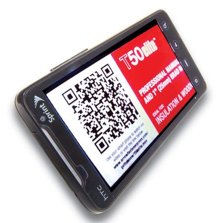 <b>Snap and learn more</b></br> Pull up the QR app and frame the code. Then get really smart, really fast.