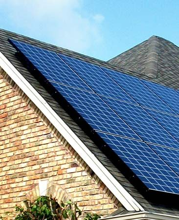 Roof-mounted panels<br/>SolarCity