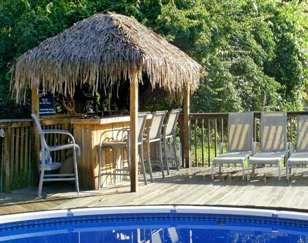 """<b>Stanek Tiki Club</b></br> """"The Stanek Tiki Club is open to members only, but anyone can become a member."""""""