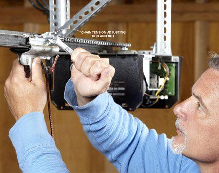 How to Replace a Garage Door Opener Gear | DoItYourself.com