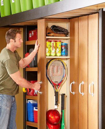 Garage Storage Space Saving Sliding Shelves The Family