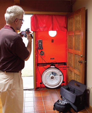 <b>Get expert recommendations</b></br> <p>An energy audit  includes a series of tests,   including the  blower door pressure test   (shown), that tell  you the efficiency of   your heating and  cooling system and the   overall efficiency  of your home. On the   basis of the test  results, the auditor will   recommend low-cost  improvements   to save energy and  larger   upgrades that will  pay you back   within five to  seven years.   Audits take two to  three hours   and cost $250 to  $400, but if   you set one up  through your   utility company,  you may be   eligible for a rebate. </p>