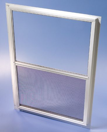 <b>New storm windows save more energy</b></br> <p>Storm windows  aren't new, but they're definitely improved:   New ones open and  close and can be left on year-round. Some   offer  low-emissivity coatings to further cut heat loss.   You can use low-e  versions even if your windows already    have a low-e  coating. You'll see the biggest payback   when they're used  over single-pane windows. But don't   use storm windows  over aluminum windows—heat   buildup between  the two windows can damage the   aluminum, and  drilling holes for installation can cause leaks.</p>