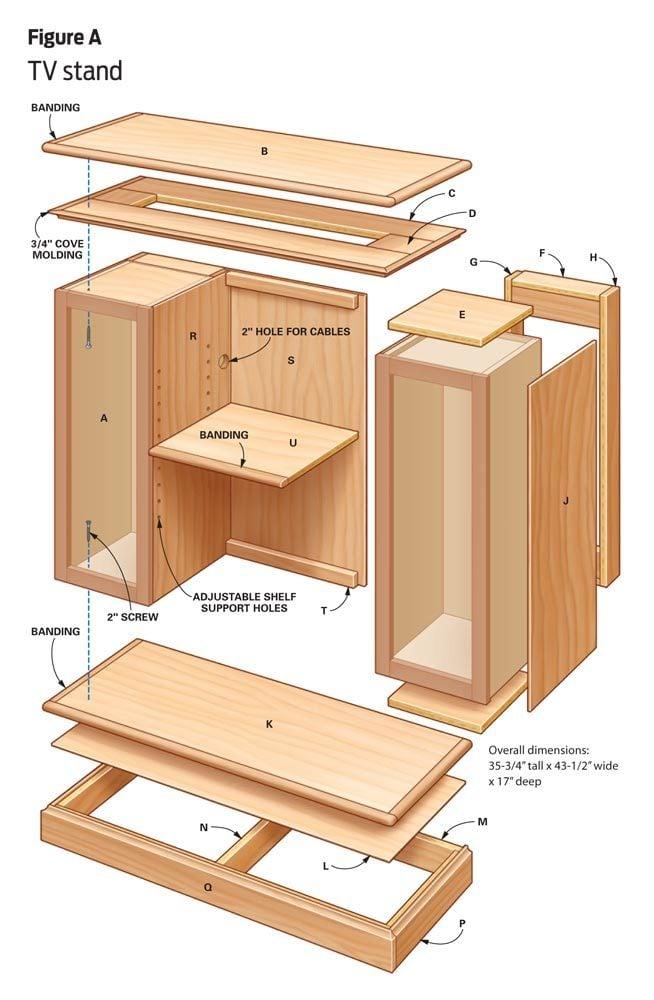 DIY Furniture: TV stand