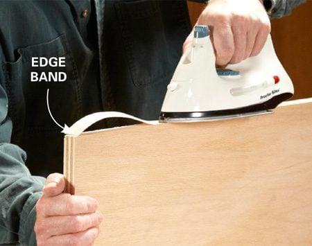 DIY furniture trick: Edge banding