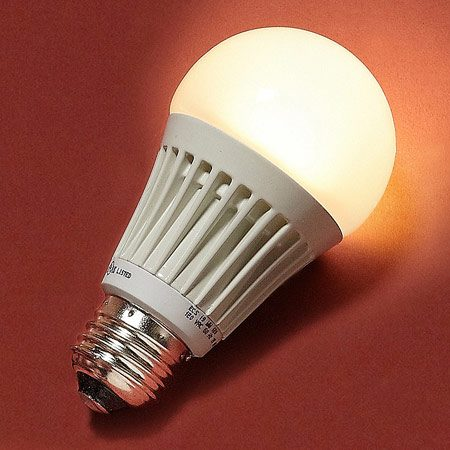 <b>Light emitting diodes (LEDs)</b></br> LEDs are extremely long-lasting and efficient, but bulb options are still limited.