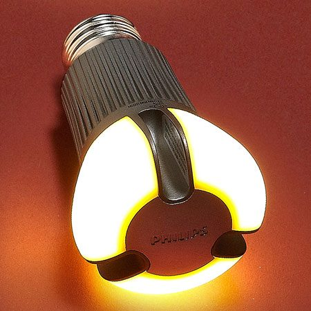 <b>Philips AmbientLED 12.5-watt 60-watt equivalent (also called the EnduraLED)</b></br> This is the first Energy Star–rated 60-watt equivalent on the market that works well in table and floor lamps. Bright, warm light, dimmable, omnidirectional. About $40 at home centers and online retailers.