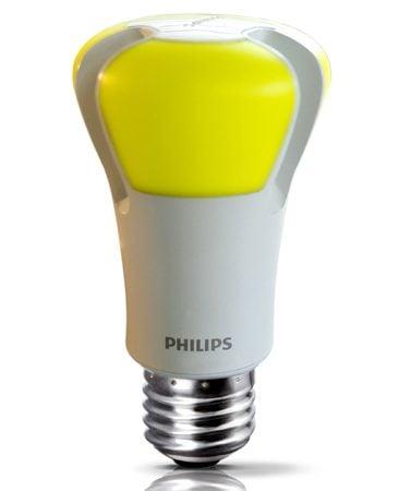 Philips 10-watt EnduraLED bulb<br/>Photo courtesy of Philips