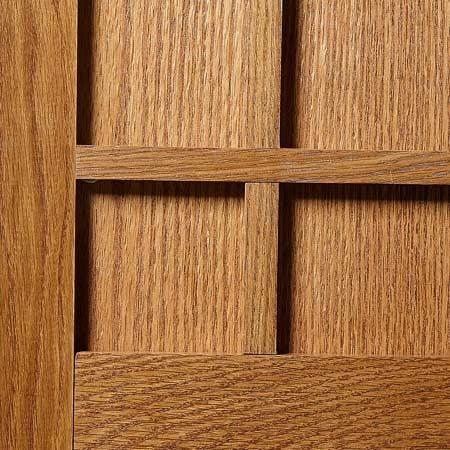 Finished wood panel