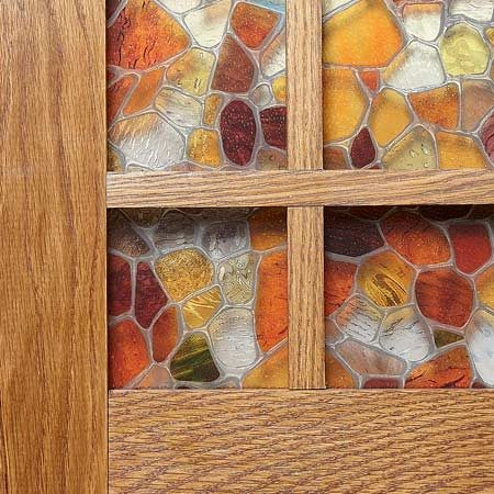 Window film on acrylic