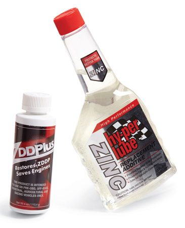 <b>Wear additives for older engines</b></br> Older engines need additional wear protection. Pour in a zinc-enriched additive at each oil change.