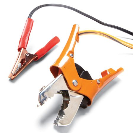 <b>Jumper cable comparison</b></br> Cheap jumper cables have light-weight clamps and thinner wire which don't work as well as stronger, heavier cables when jump starting a car.