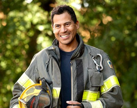 <b>Dominic Rigert</b></br> Full-time firefighter