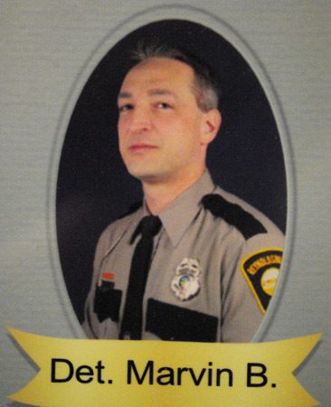 <b>Brian Marvin</b><br/>Police detective<br/>Photo courtesy of Brian Marvin