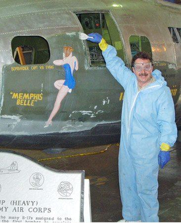 <b>Steven Markman</b></br> Aircraft restoration specialist