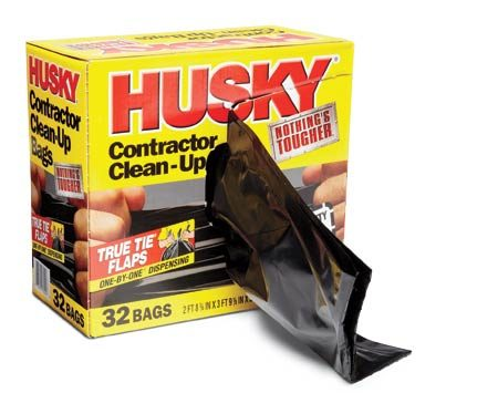 Heavy-duty contractor bags