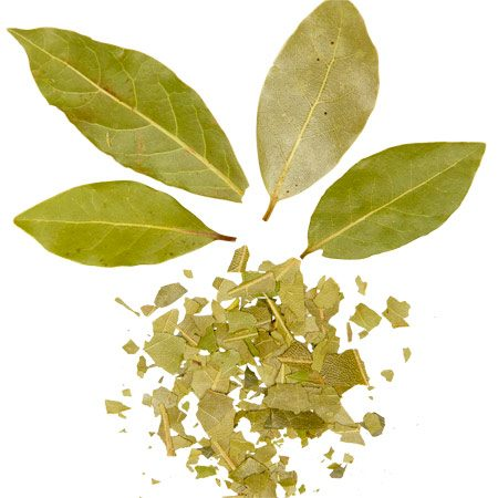 <b>Bay leaves</b></br> To repel ants, set whole bay leaves around kitchen food canisters and sprinkle crushed bay leaves along windowsills.