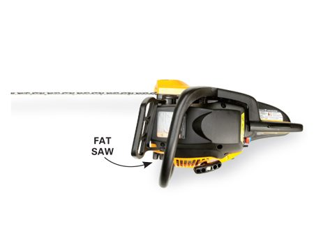 <b>Saw width comparison: Wider</b></br> Wider-bodied saws sometimes make handling and cutting more difficult.