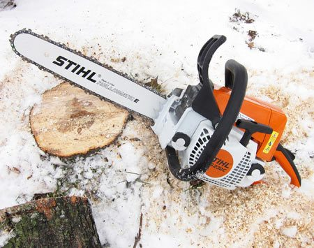 Ground level saw cut