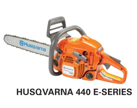 <b>Husqvarna 440 e-series</b></br> <p>Engine size: 40.9 cc<br />   Bar length: 16 in.<br /> Price: about $290 </p>