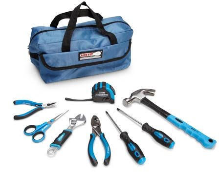 "<b>Tools for tykes</b></br> <p>Real tools teach real  responsibility. You can buy reasonably   priced kid-size tools at home  centers and online retailers, including   <a href='http://www.amazon.com/gp/search/ref=as_li_qf_sp_sr_tl?ie=UTF8&keywords=Grip%209%20pc%20Children%27s%20Tool%20Kit&tag=familhandy-20&index=aps&linkCode=ur2&camp=1789&creative=9325' rel='nofollow'>amazon.com</a>, <a href='http://www.red-toolbox.com' rel='nofollow'>red-toolbox.com</a> and <a href='http://www.forsmallhands.com' rel='nofollow'>forsmallhands.com</a>. Buy   at least medium-quality tools.  Cheap tools bend or break. The   ""Grip"" nine-piece Children's  Tool Kit  shown here costs $35 and   is  available through our affiliation with  <a href='http://www.amazon.com/gp/search/ref=as_li_qf_sp_sr_tl?ie=UTF8&keywords=Grip%209%20pc%20Children%27s%20Tool%20Kit&tag=familhandy-20&index=aps&linkCode=ur2&camp=1789&creative=9325' rel='nofollow'>amazon.com</a>. </p>"
