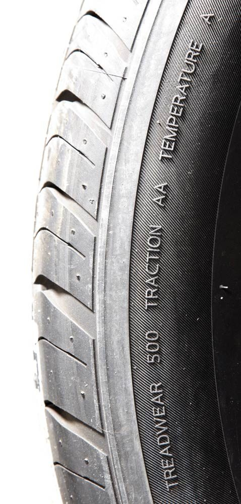 Key tire buying specs