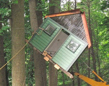Tree house building tips the family handyman for How to build a treehouse step by step